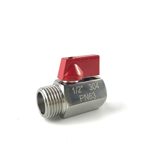 Factory Outlets 2 Stainless Ball Valve - MINI Ball Valve M/F B111S – Kuntai