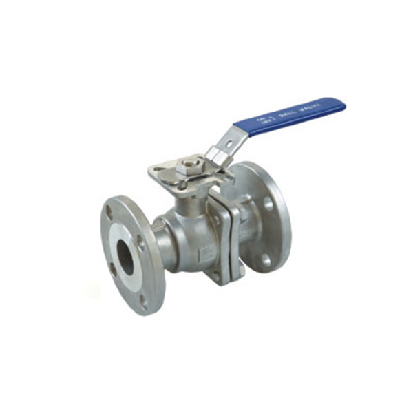 Manufactur standard 3 Piece Socket Weld Ball Valve - 2PC Flanged Ball Valve JIS Standard with ISO 5211 mounting pad B404MJ – Kuntai