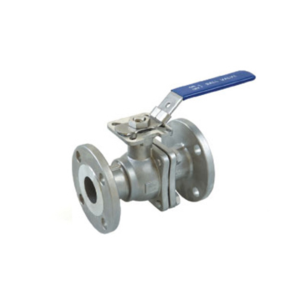 2PC Flanged Ball Valve ASME Standard with ISO 5211 mounting B404MA Featured Image