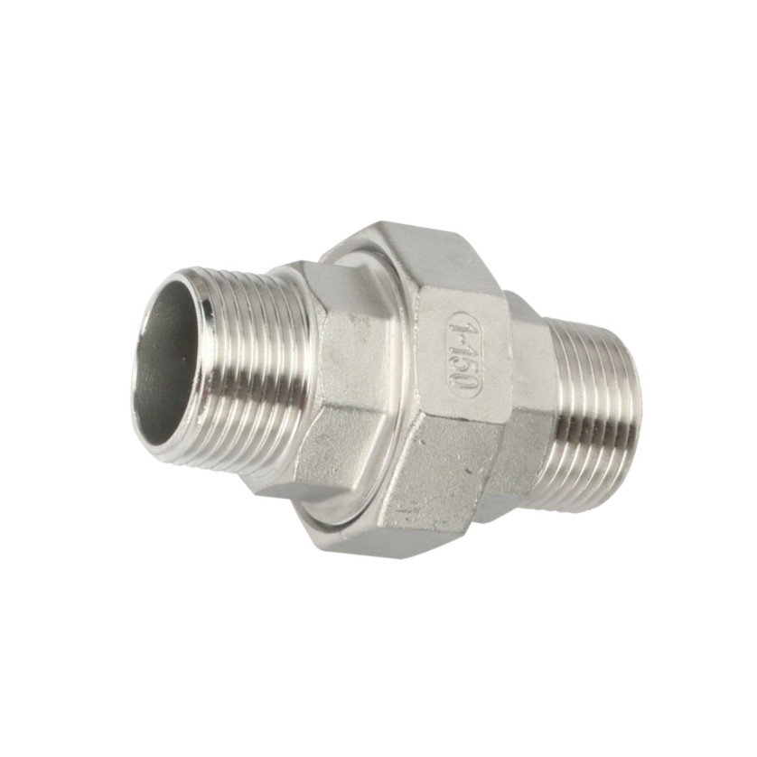 Top Suppliers Threaded Stainless Steel Pipe Fittings – Union Flat M/M – Kuntai