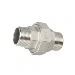 Good quality Stainless Steel Threaded Fittings - Union Conical M/M – Kuntai