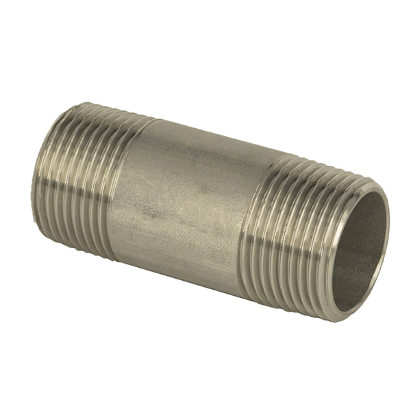 OEM/ODM Manufacturer 316 Stainless Steel Fittings - Barrel Nipple – Kuntai