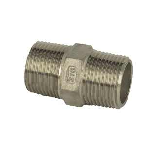 Excellent quality Stainless Steel Bsp Fittings - Hex Nipple – Kuntai