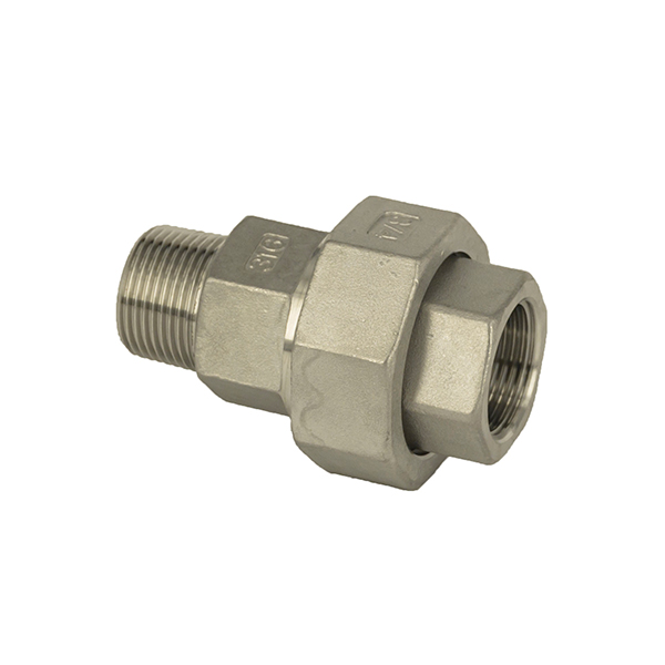 Top Suppliers Threaded Stainless Steel Pipe Fittings – Union Flat M/F – Kuntai