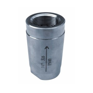 Hot-selling Stainless Steel Mini Valve - 1PC Vertical Check Valve C101 – Kuntai