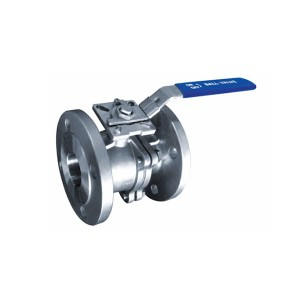 Wholesale Price China Ss 2pc Ball Valve - 2PC Flanged Ball Valve DIN Standard with ISO 5211 mounting pad B404MD – Kuntai