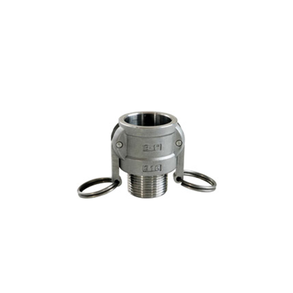 Original Factory Stainless Steel Threaded Pipe Cap - Quick Coupling Type B – Kuntai