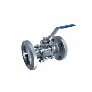 factory customized Stainless Steel Y Strainer - 3PC Flanged Ball Valve DIN Standard B304D – Kuntai