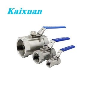 Factory Free sample 12 Pex Female Adapter Stainless Steel - 1PC Ball Valve – Kaixuan