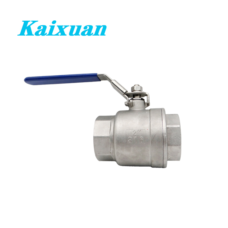 Manufacturer of Stainless Steel Pex Elbow - 2PC Ball Valve – Kaixuan