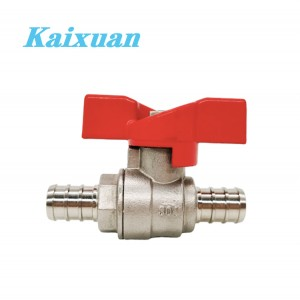 8 Year Exporter Pex Plumbing Systems - Stainless Steel PEX Ball Valves – Kaixuan