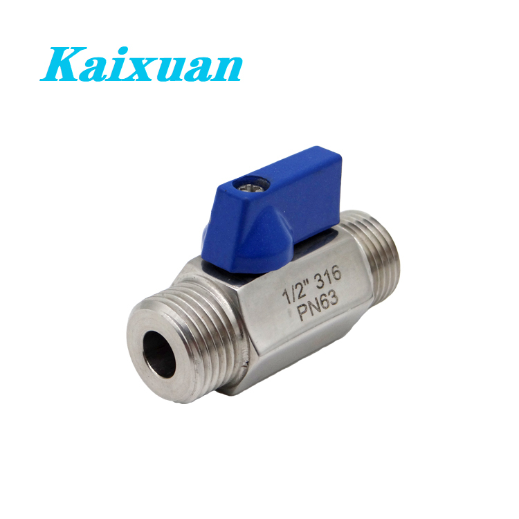 Best Price on Threaded Adapters - Mini ball valve – Kaixuan