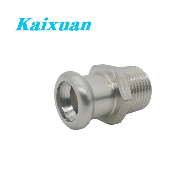 Good quality Pex 45 Degree Fittings - Press Fitting Adapter  – Kaixuan