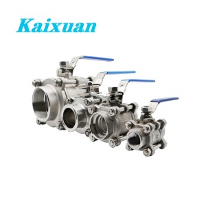 Best-Selling 304 Ball Valve - 3PC Ball Valves – Kaixuan