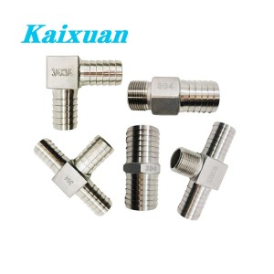 100% Original Ss Press Fittings - Hose Barb Fittings  – Kaixuan