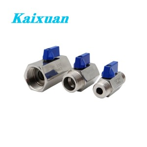 18 Years Factory Stainless Steel Pipe Accessories - Mini ball valve – Kaixuan