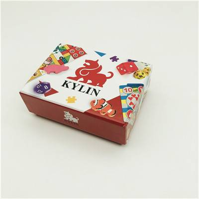 OEM/ODM Factory Metal Cube - Board game 01 customized board game printing anniversary game make your own board game with board game pieces  – Kylin