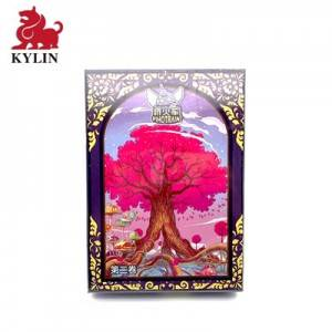 High reputation Acrylic Gems - B-018 puzzle suppliers custom board game puzzle with gift box wholesale board game – Kylin