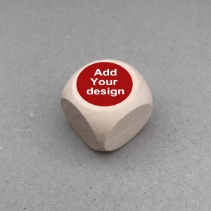 Bottom price Metal Dice - Round or square dice custom game dice wooden dice wholesale – Kylin