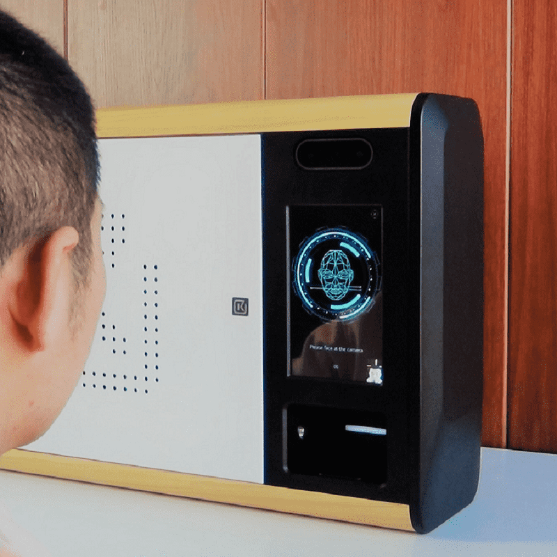Office & Hotel Self Service Keys Machine with Face ID and Fingerprint Featured Image