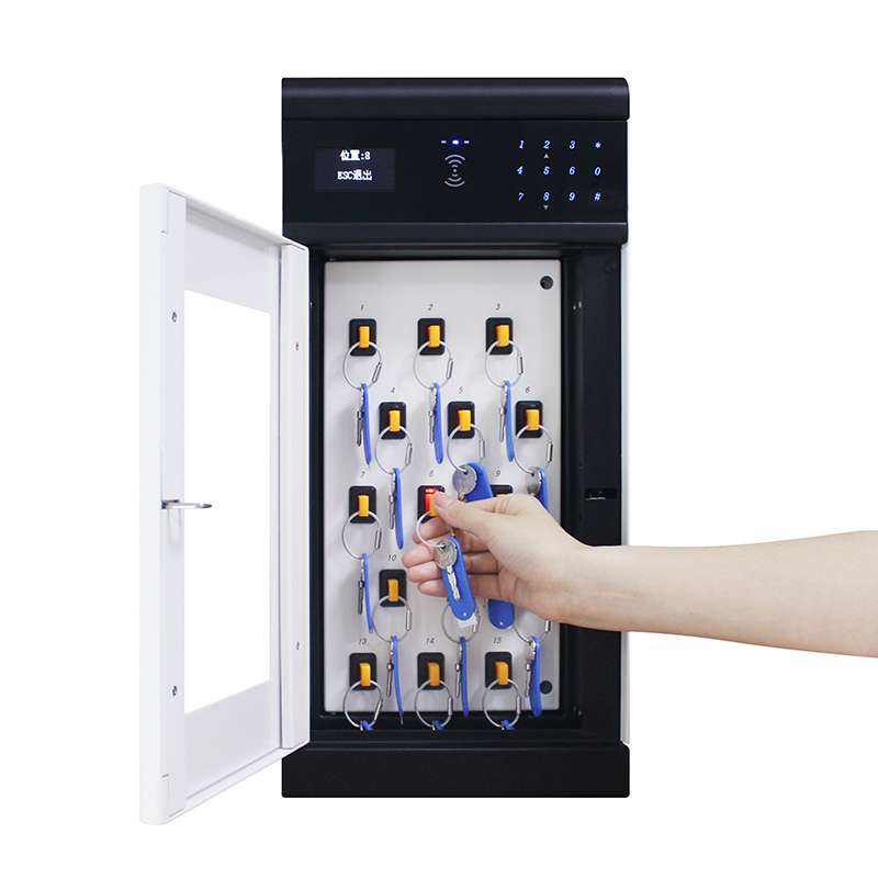 OEM/ODM Manufacturer Key Storage Box Cabinet - H2000 Network Electronic key tracking Cabinet – Landwell
