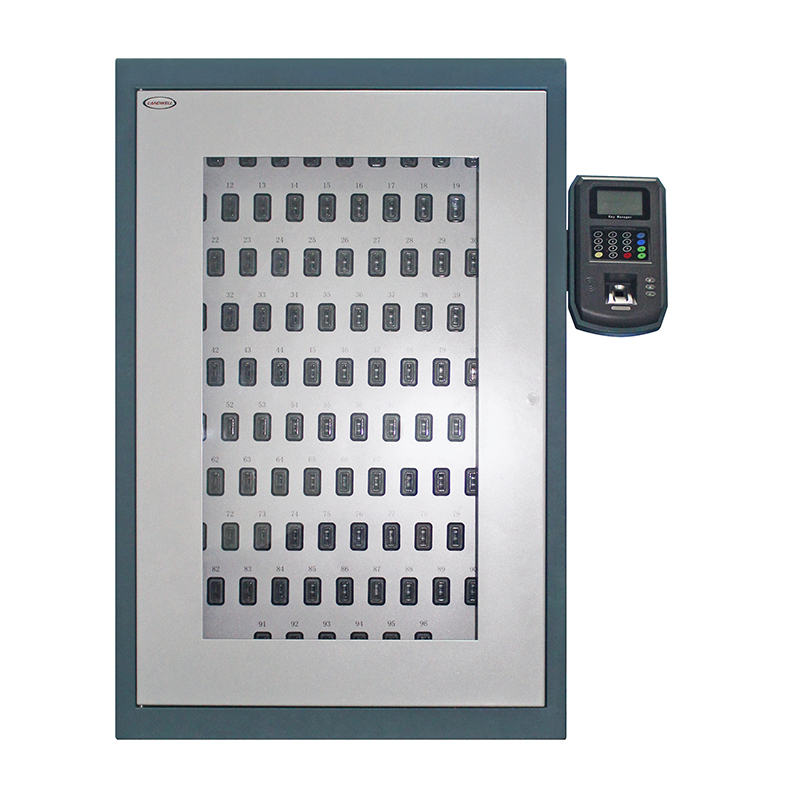 Cheapest Factory Hospital Security Rfid Intelligent Key Cabinet - i-keybox-96 Electronic Key Safe Cabinet – Landwell