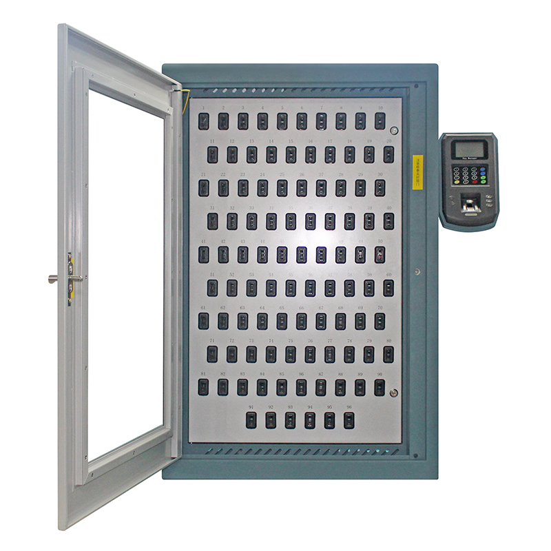 Wholesale Price Key Control Cabinet - i-keybox-96 Electronic Key Safe Cabinet – Landwell detail pictures