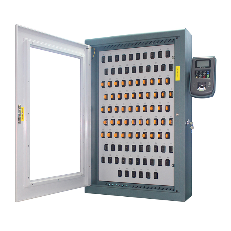 New Arrival China Top Safe Fingerprint Key Cabinet - i-keybox-96 Electronic Key Safe Cabinet – Landwell