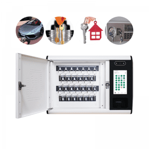 Exquisite and advanced appearance key security cabinet electronic key management system