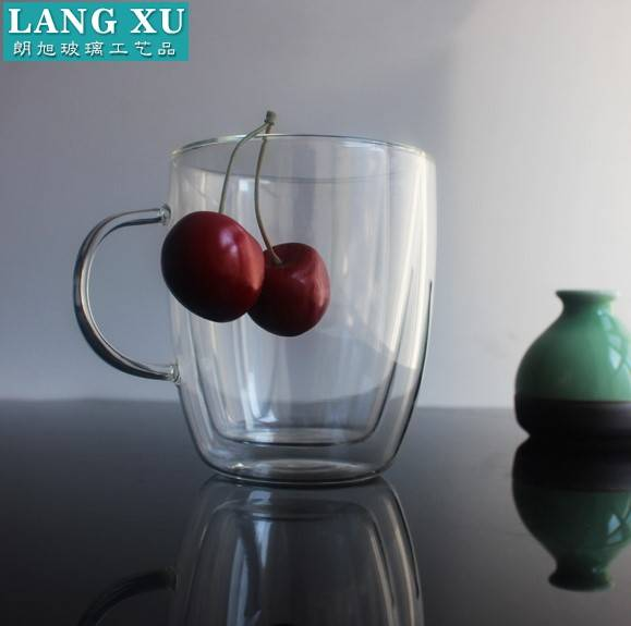 Super Lowest Price Small Wine Glass - FD131512 cheap coffee mugs glass wholesale double glass cup – Langxu