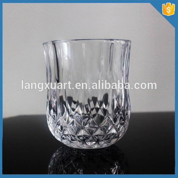 china wholesale Glass Of Wine Factories - mini clear Vodka Shooters – Langxu