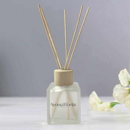 Factory Supply Reed Diffuser Empty Bottle - LX 100ml 200ml 250ml square customized luxury reed diffuser glass bottle – Langxu