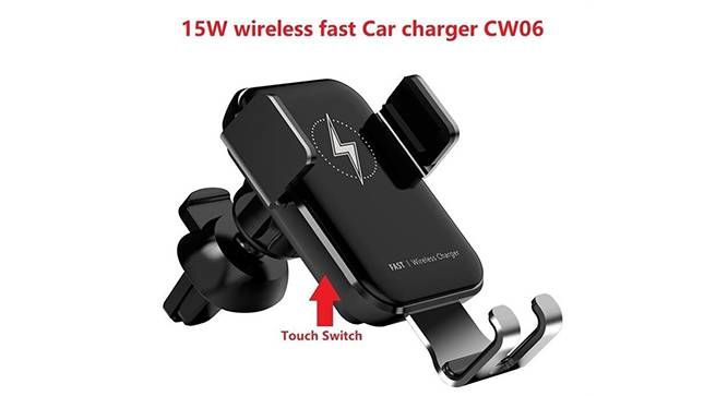 15W wireless fast Car charger evaluation