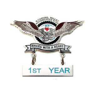 18 Years Factory Custom Badge - Dangling Lapel Pins – Kingtai