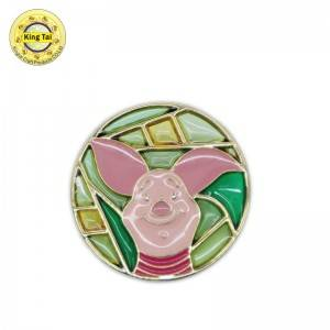 Wholesale Price China Enamel Pins - Soft enamel pin – Kingtai