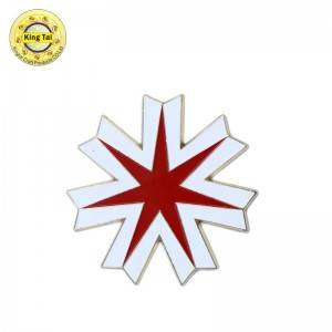 Reasonable price China Lapel Pin Custom - Hard enameln pin – Kingtai