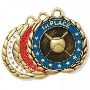 New Arrival China Trophy Medal - BASEBALL MEDALS – Kingtai