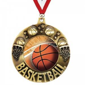 Hot sale Emblem - Basketball Medals – Kingtai