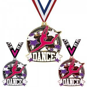Factory Cheap Hot China Excellent Medal - DANCE MEDALS – Kingtai