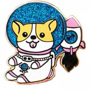 Special Design for Cat Lapel Pin - Glittering Lapel Pins – Kingtai