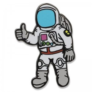 2D pin badge