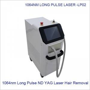 Long Pulse 1064nm Pain Free Laser Hair Removal  LP02