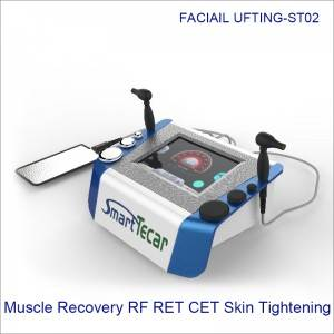 Portable 3 Color Smart Muscle Recovery RF RET CET Theory Skin Whitening ST02