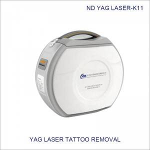 Q-switch nd yag laser carbon peeling nd yag laser tattoo removal machine K11