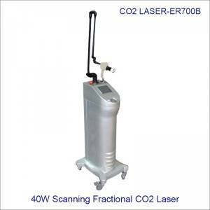40W Scanning Fractional Co2 Medical Laser Sealed Off CO2 Laser ER700B