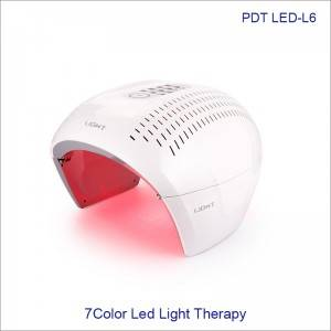 Skin Rejuvenation Home Use 7 Colors PDT LED Light Therapy Phototherapy L6