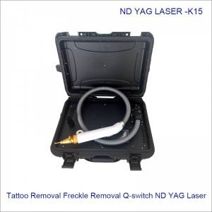 Suitcase All Color Tattoo Removal Freckle Removal Q-switch ND YAG Laser K15