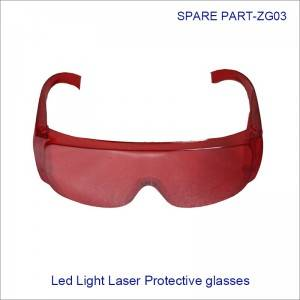 China Wholesale Replacement Xenon lamp IPL Lamp Factories - IPL E-light laser protect glasses for 200~1900nm wavelength ZG03 – Zohonice