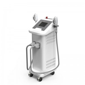 OEM Manufacturer Ipl Light Hair Removal - Vertical IPL SHR Machine for hair removalelight ipl rf nd yag laser ipl shr – LaserTell