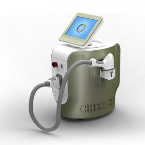 Triple wavelength 755 808 1064 diode laser hair removal machine